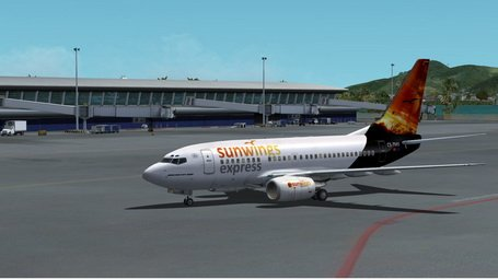  FSX B737-600 Sunwings Express VA