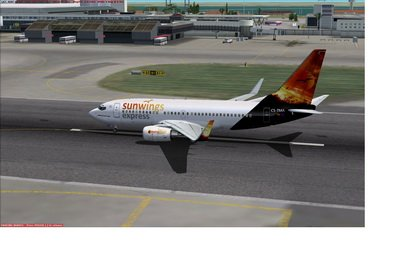  FSX B737-700 Sunwings Express VA