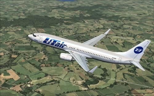 FSX iFly 737-800 UTair VQ-BQP