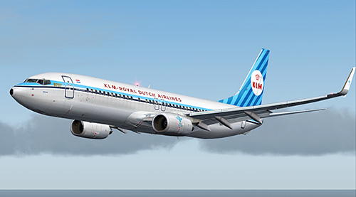 FS9 iFly 737-800 KLM Retro PH-BXA