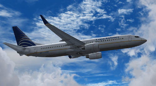  FS9 Copa Airlines B800 