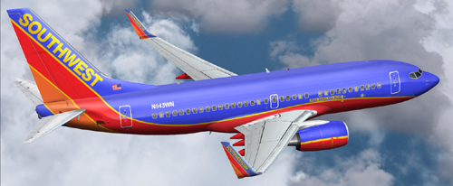 FS9 Southwest B700 Free Bags Fly Here 