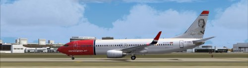  Norwegian LN-NOD for ifly 737-800