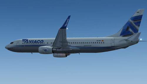  FSX Aviaco B800 EC-LMV