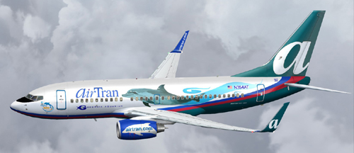 FS9 Airtran Georgia Aquarium B700