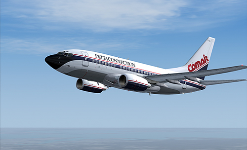 FS9 iFly 737-600 Comair