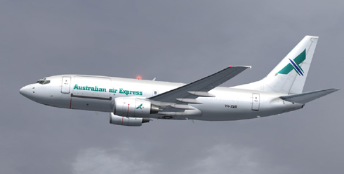 FS9 Australian Air Express B700