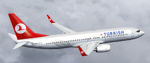 FS9 Turkish Airlines B800