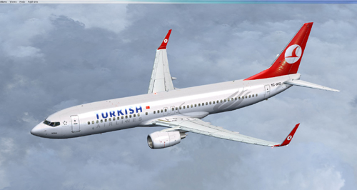 FSX Turkish Airlines B800