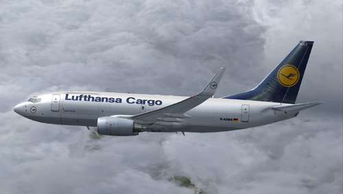 Lufthansa Cargo B700 HD Desktop Wallpapers