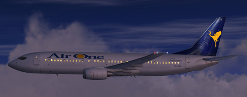FSX Air One B800 