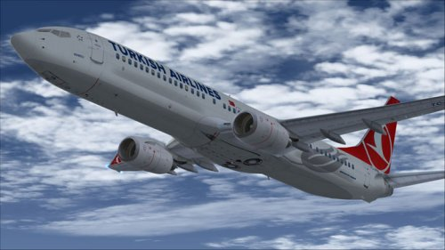 FSX Turkish Airlines Boeing 737-9F2ERTC-JYB
