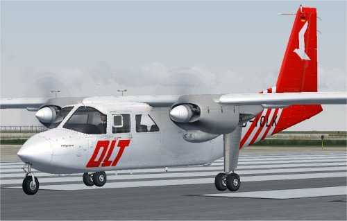 Repaint pack for Flight1\'s BN-2A Islander