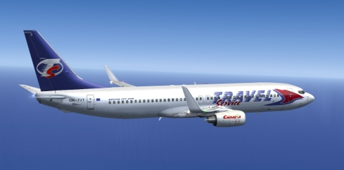  FS9 Travel Service 737-800 OK-TVT 