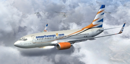 FS9 SmartWings 737-700 OK-SWX 