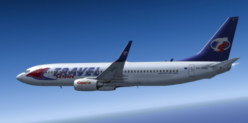  FS9 Travel Service 737-800 OK-TVU 