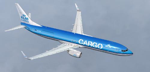 FSX KLM B900 Cargo