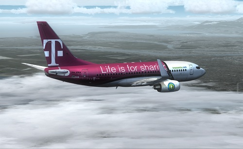  FSX 737-700 Transavia T-Mobile