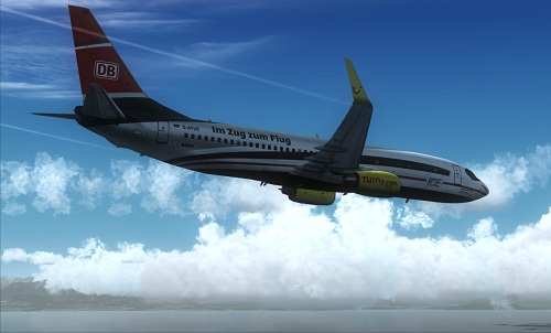  FSX B737-800 TUIfly DB Air One. By Volker Wegner