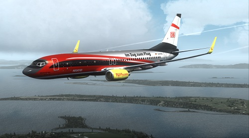 FSX B737-800 TUIfly DB Air Two