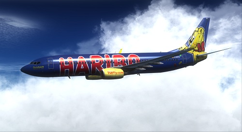 FSX 737-800 TUIfly Blue Haribo