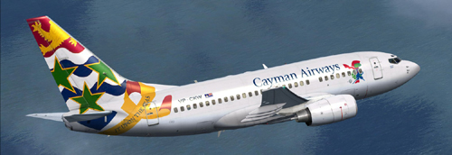 FS9 Cayman Airways B600