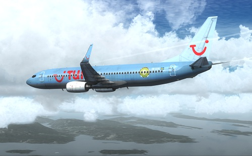  FSX 737-800 Tuifly Nordic 