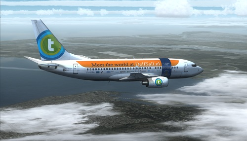 FSX 737-700 Transavia Delfsail