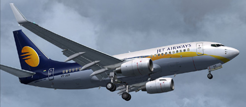 FS9 Jet Airways B700