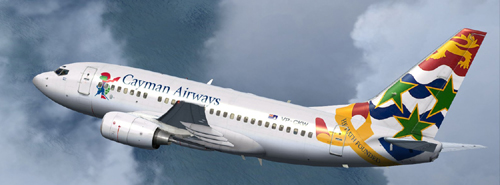FSX Cayman Airways B600