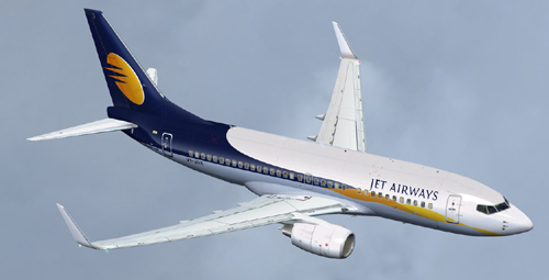 FSX Jet Airways B700