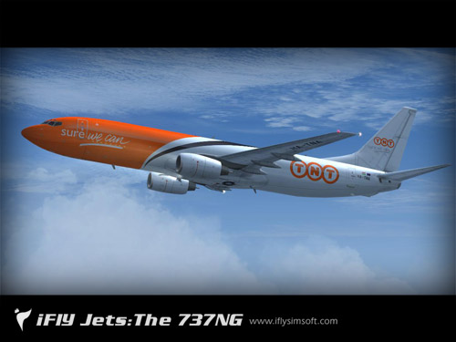 FS9 Boeing B737-800 TNT Cargo
