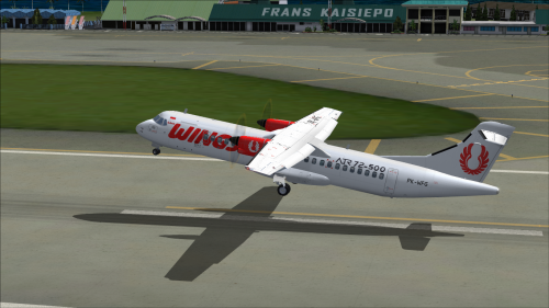 Wings Air - PK-WFG for Fligh1 ATR