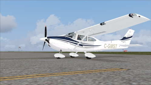 FSX Flight1 Cessna 182T Skylane C-GMST