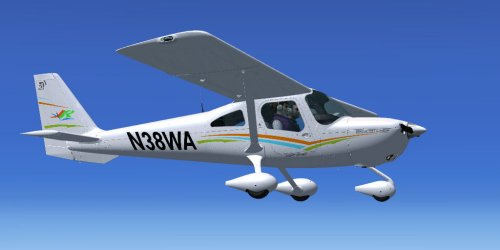 N38WA for F1\'s C162 Skycatcher