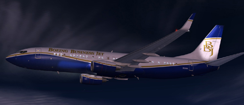 FSX House BBJ2 Feature Pack Special