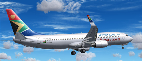 FP FS9 South African B800 ZS-SJD