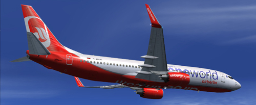 FSX Air Berlin One World B738