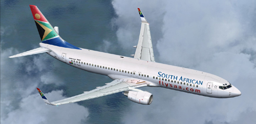  FP FSX South African B800 ZS-SJD 