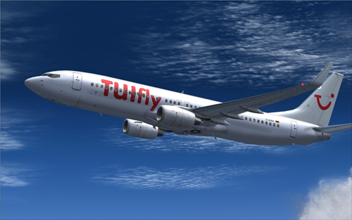 FS9 TUIfly D-AHFA White Version