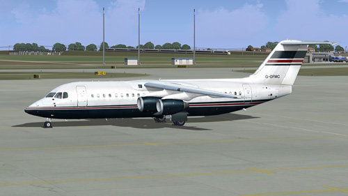 Quality Wings Simulation Avro RJ100 Ford Motor Company