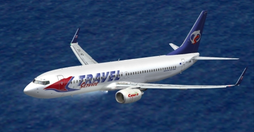 FS9 Travel Service 737-8CX OK-TVB
