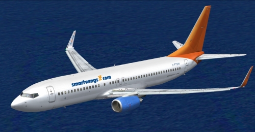 FS9 SmartWings Sunwing Airlines 737-808 C-FTDW 