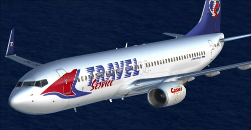  FS9 Travel Service 737-8Q8 OK-TVG 
