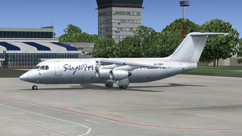Quality Wings Simulation Avro RJ100 Sky Wings Airlines