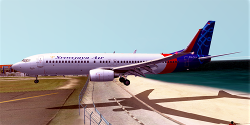 Sriwijaya Air PK-CLA 737-800NG