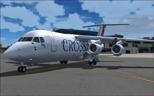 QWings RJ100 Crossair NC HB-IXX FS9