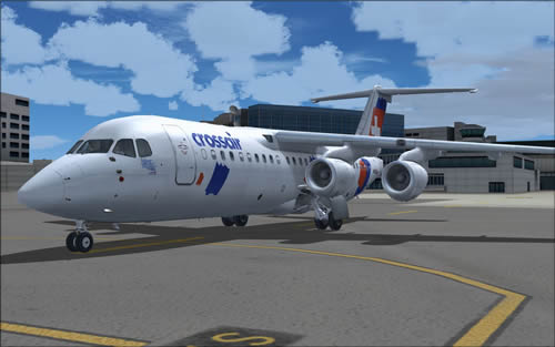 QWings RJ100 Crossair HB-IXT OC FS9