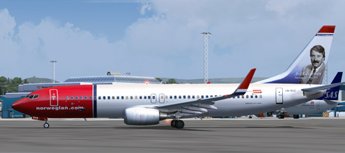  FS9 Norwegian LN-DYZ Aril Edvardsen