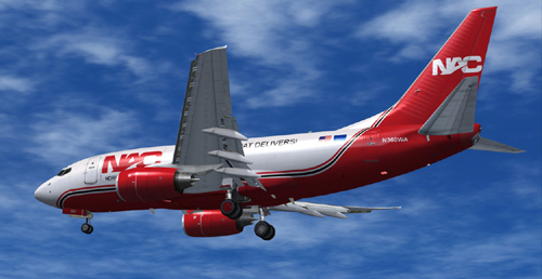 FS9 Northern Air Cargo B600